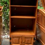 Solid Maple TV/stereo equipment shelves