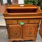 Antique Maple Dry Sink