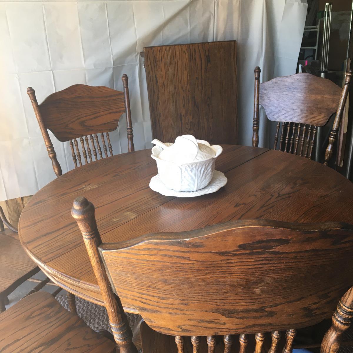Photo 2 of Antique Dining Set