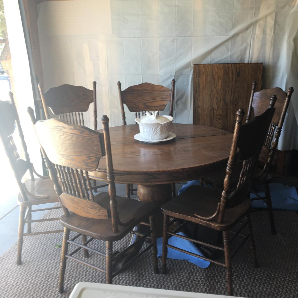 Photo 1 of Antique Dining Set