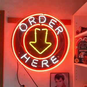 Photo of Neon sign