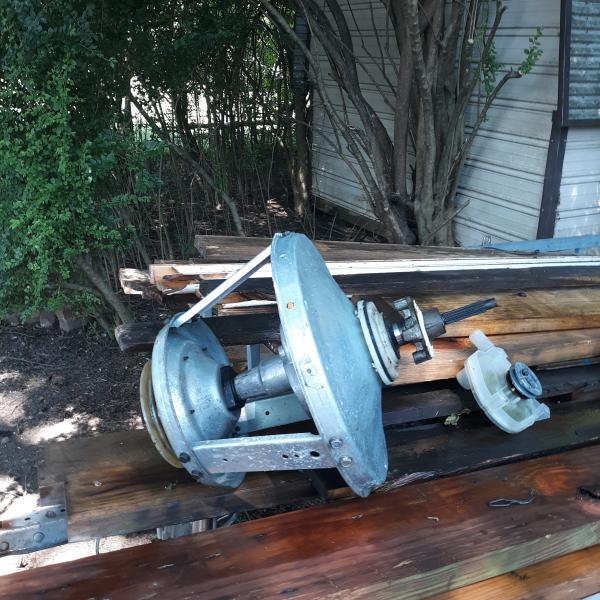 Photo of Maytag washer transmission and water pump