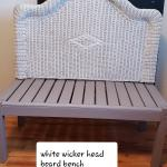 For sale indoor outdoor bench- furniture