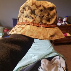 Photo of Coach bucket logo hat size P/S