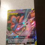 2019 fullart Espeon and deoxys Tag Team gx  72/236