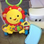 KIDS TOYS & STEP STOOL