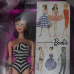 5th anniversary barbie in box brunette
