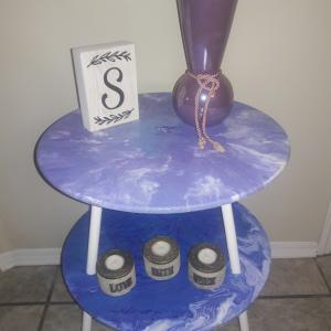 Photo of Hand Poured Acrylic Table
