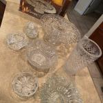 Crystal Glassware - Multiple Items