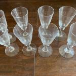 Crystal Cordial Glasses - Set of 8
