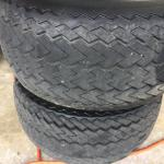 Golf Tires and Wheels Set of 4