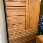 2-Piece Oak Dresser Set