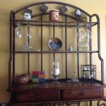 Combination Sideboard/Wine Rack