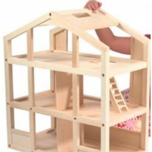 Photo of Wooden dollhouse