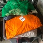 Large Tote of Men's New T-shirts Size XL
