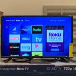 "Insignia NS-32DR310NA17 32"" Class - LED - 720p - Smart - Roku TV"