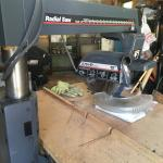 Radial arm saw.  Craftsman