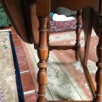 Pennsylvania House Drop Leaf  Cherry Side tables 2