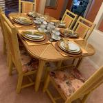 Wicker Dining Room Set