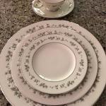 "Lenox ""Brookdale"" China service for 12"