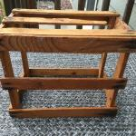 Small Rustic Wooden Crate