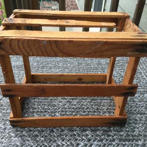 Photo of Small Rustic Wooden Crate