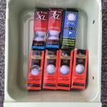 New Golf Balls in Original Packaging