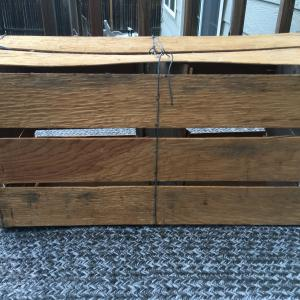 Photo of Rustic wooden crate