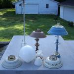 Assorted Lamps and Globes