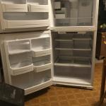 GE frost free refrigerator
