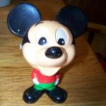 1976 Mattel Pull String Talking Mickey
