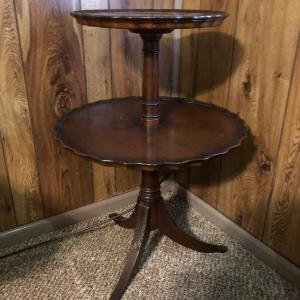 Photo of Antique Two Tier Table