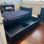 7 Piece Cafe Kid Boys Bedroom Set