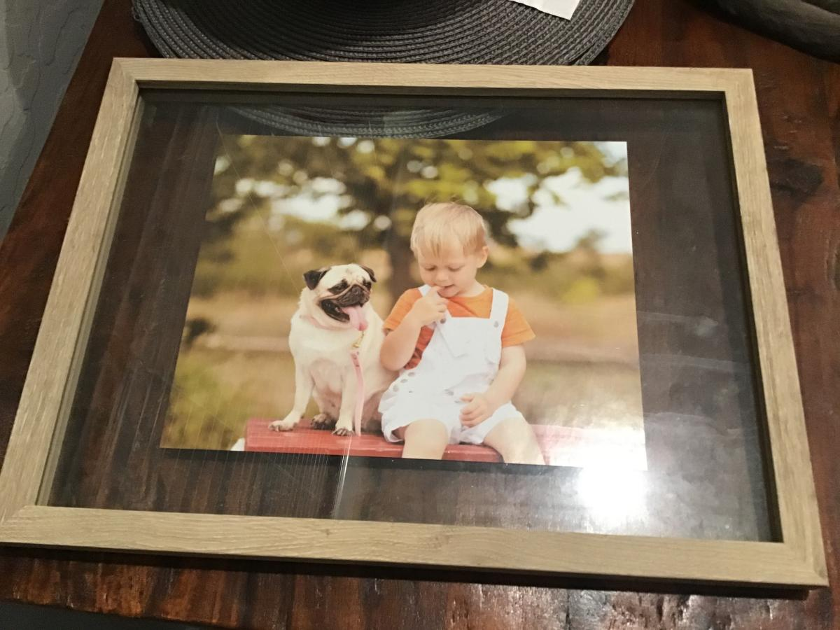 Photo 1 of Floating picture frames