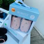Robeez Infant Leather Shoes - Brand New!