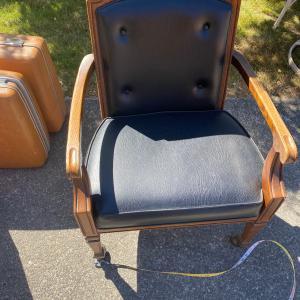 Photo of Antique Captain's chair
