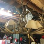 2 large Antler Chandeliers