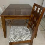 Dining table and 8 chairs - perfect for families and entertaining