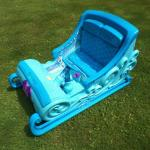 Disney Frozen Sleigh 12V  Battery Powered Ride On 2 Passenger