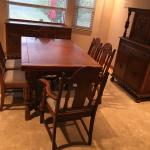 Vintage 9-Piece Dining Room Set