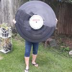 Giant Vinyl Record
