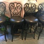 Four chairs brand new