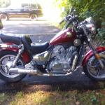 1986 vt 700 motorcycle for sale