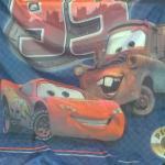 Disney Pixar Cars Shower Curtain.