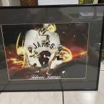 Miami Heat James Labron Picture, Signed ONEAL Jersey, Auto Part, Speakers