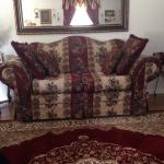 Beautiful living room set and 5piece bedroom set for sale