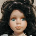 Porcelain Doll - Timeless Treasures - The Angelina Doll Collection - 17""