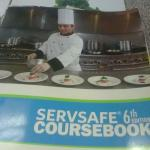 Culinary Course Books (8 of them).
