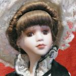 Porcelain Doll - Bisqued parts - Eliza- Anastacia Collection