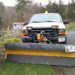 Ford 250 super duty 4x4 w plow